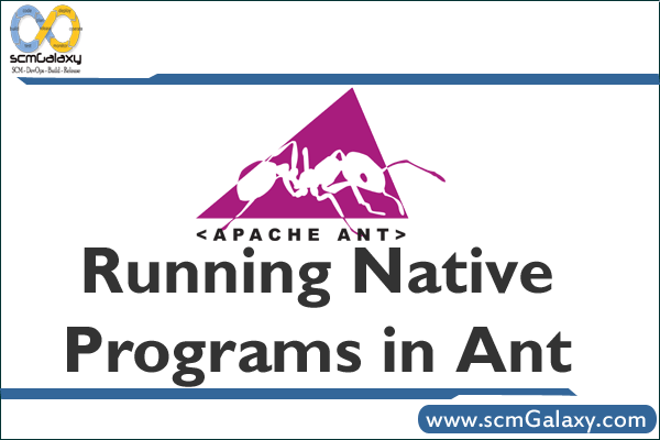 Running Native Programs in Ant