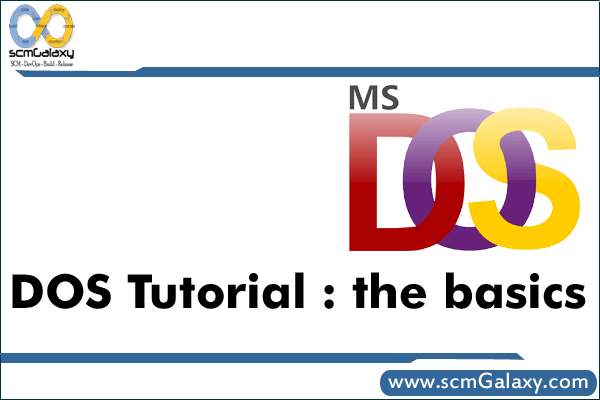 DOS TUTORIAL : THE BASICS | MS-DOS Learning Resources