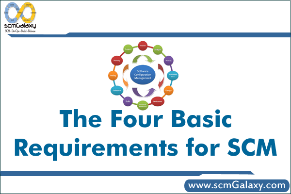 The Four Basic Requirements for SCM Process – SCM Guide