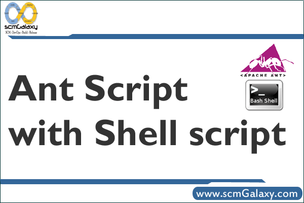 Ant Script with Shell script, How to run shell script from Ant Script?