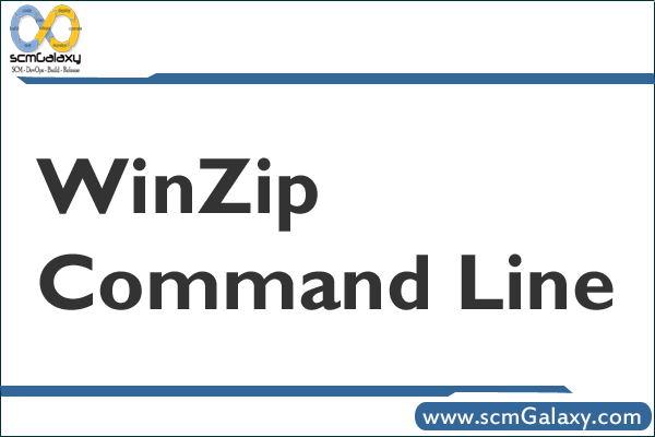 WinZip Command Line | WinZip Command line CheatSheet – Reference