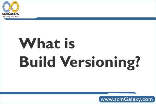 build-versioning