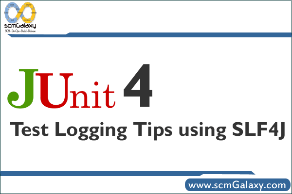 JUnit 4 Test Logging Tips using SLF4J