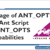 ant_opts-in-ant-script