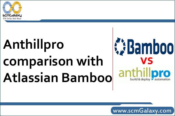Anthillpro Comparison with Atlassian Bamboo – Continuous Integration Tools Review