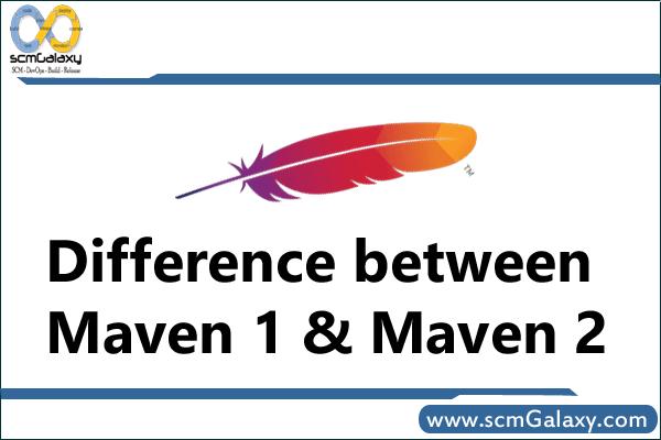 Difference between Maven 1 and Maven 2 |  Maven 1 Vs Maven 2
