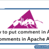 comments-in-apache-ant