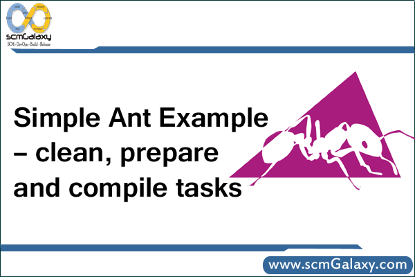 Simple Ant Example – clean, prepare, and compile tasks