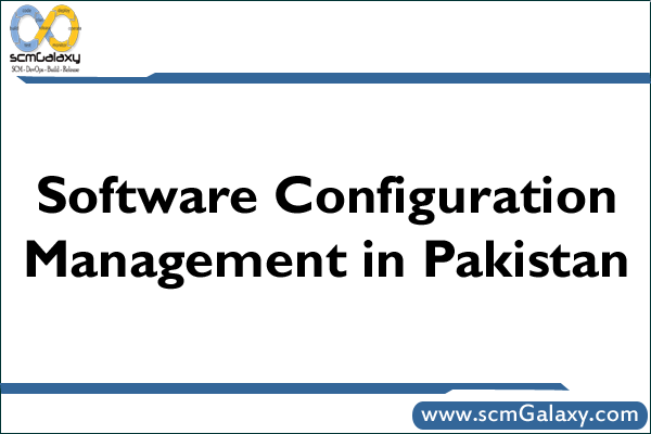 Software Configuration Management in Pakistan | SCM Practices in Pakistan