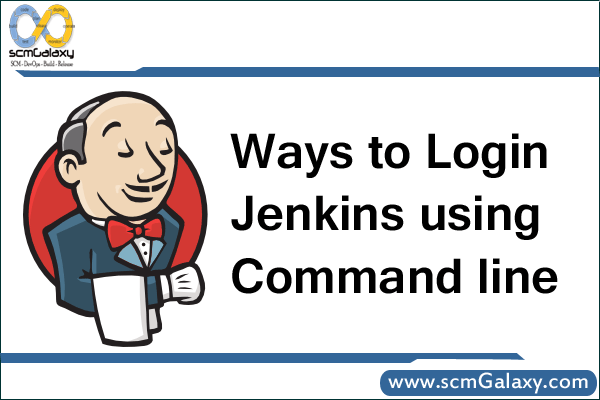 What are the ways to Login Jenkins using Command line ?