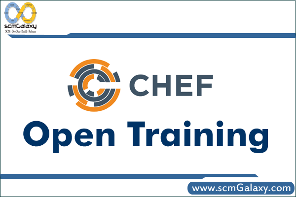 Chef Open Training | Chef Training | Chef Course | Online | Classroom