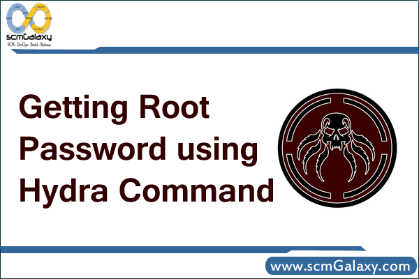 Getting root password using Hydra command