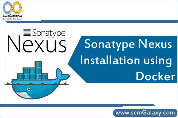 Sonatype Nexus installation using Docker