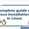 java-installation-in-linux