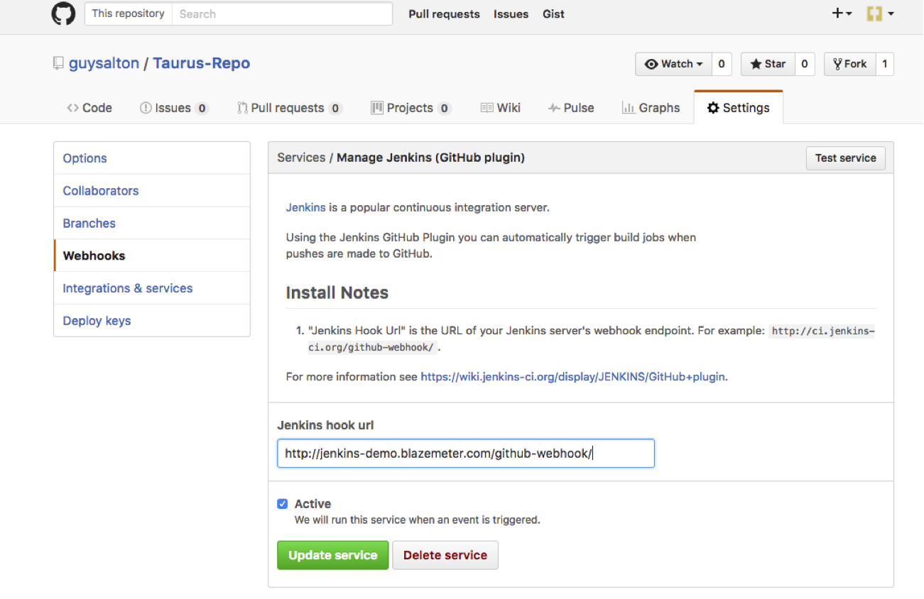 How to build when a change is pushed to GitHub in Jenkins? - DevOps