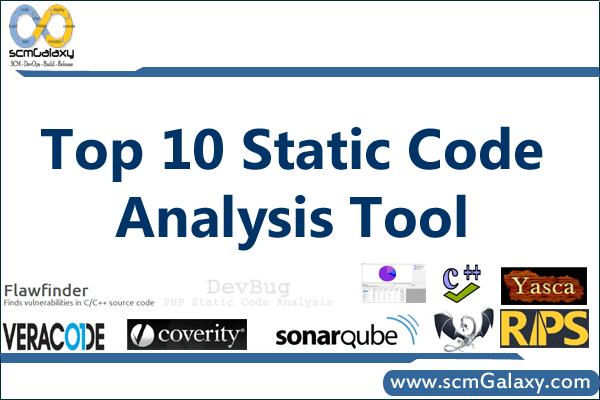 Top 10 Static Code Analysis Tool   Best Static Code Analysis Tools List