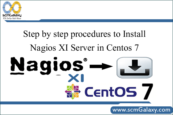 Step by step procedures to Install Nagios XI Server in Centos 7