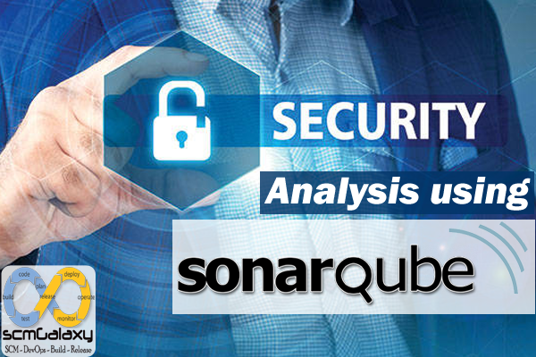 How can we do the security analysis using SonarQube?