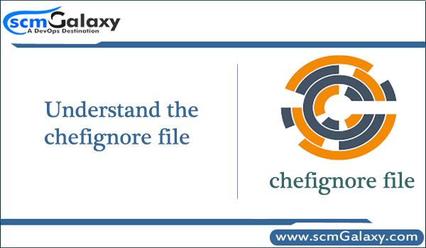 Understand the chefignore file