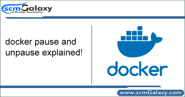 docker pause and unpause explanined!