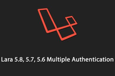 How to Create Multiple Role Based Authentication in Laravel 5.8