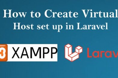 How to create virtual local host setup in Laravel