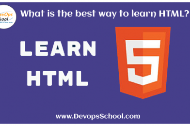 What is the best way to learn HTML?