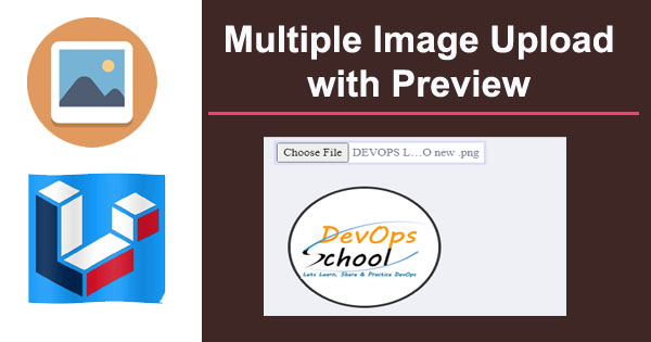 Multi File upload with Image preview and checklist delete options
