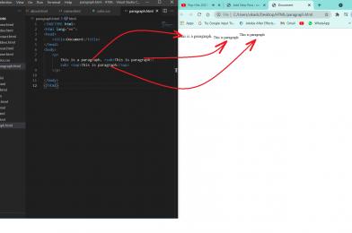 HTML  tag &  tag