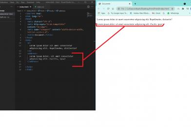 HTML: address tag