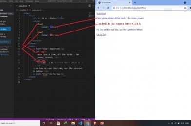 HTML: Id Attribute